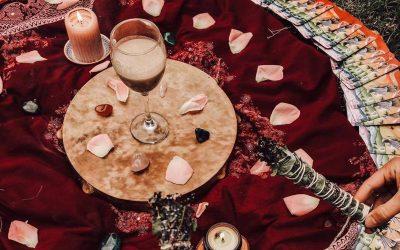 Telihold rituálé